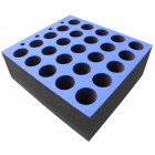 Foam Insert for 25 Microphones
