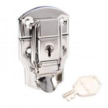 Chrome Plated Locking Drawbolt