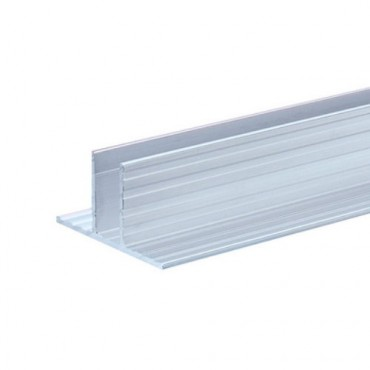 Dividing Wall Aluminium Channel for 10mm Panels (2mts)
