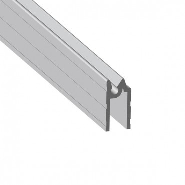 Aluminium NARROW Hybrid Extrusion for 7mm Panels (2mts)