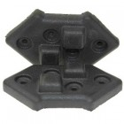 Plastic Stacking Foot for Corner Mounting (PACK OF 4)