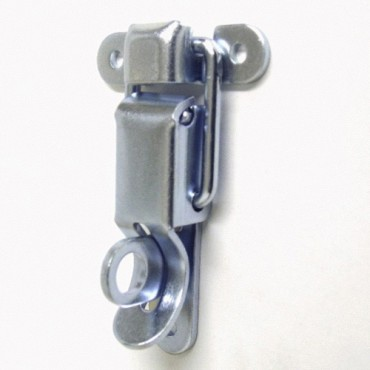 Small Padlockable Draw Latch - Zinc Plated