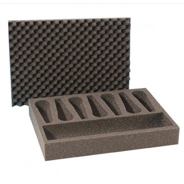 Foam Insert for 7 Microphones (1)