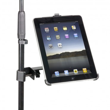 Universal Microphone Stand Holder for iPad 1, 2 & 3