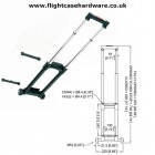 3 Stage Removable Case Trolley Handle