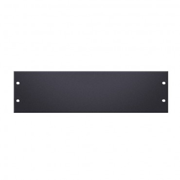 3u Aluminium Rack Panel - U Shaped