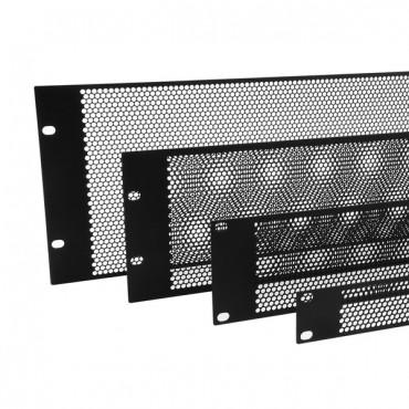 3U - Flat Perforated Rack Panel