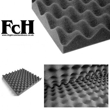 Sound Acoustic Egg Box Foam Tiles - 500mm x 500mm x 30mm (Pack of 4)