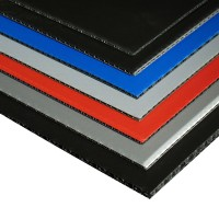 7mm Polypropylene Board - BLACK